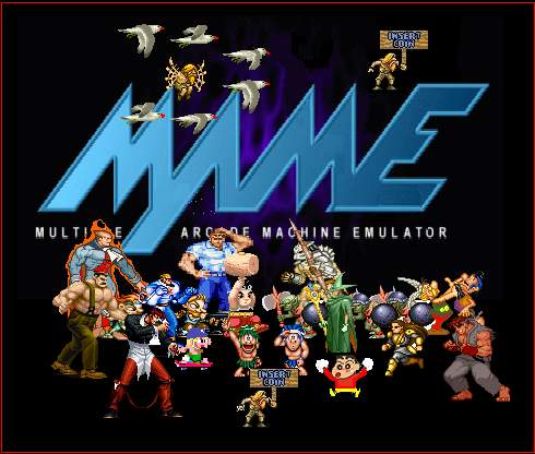 Multiple-Arcade-Machine-Emulator-(MAME)