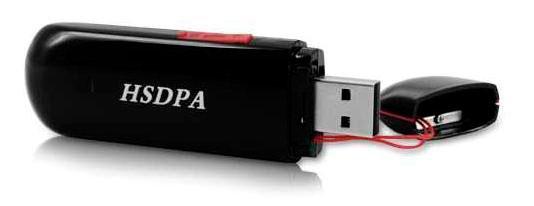 Компактный 3G модем в виде USB брелока