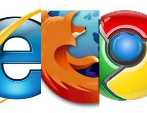 IE, Chrome, Firefox