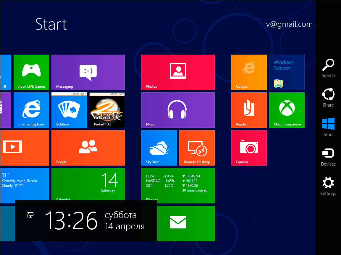 знакомство с операционной системой windows 7